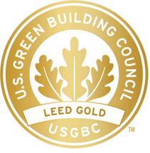 US Green Building Council Award - Gold